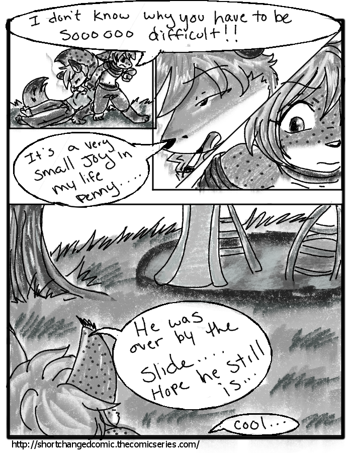 """The puppy Paradox"""" Page 7"""