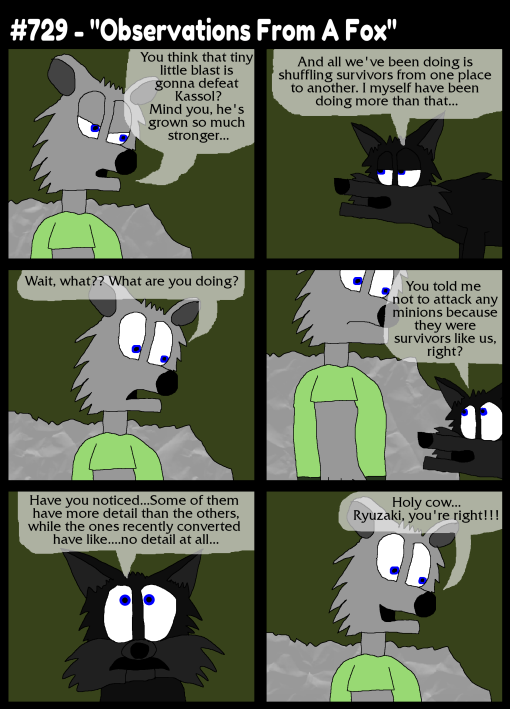 """#729 - """"Observations From A Fox"""""""