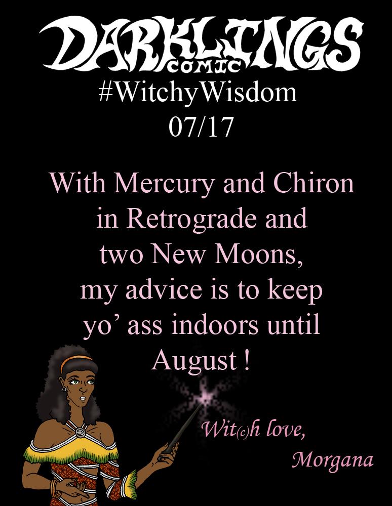 #WitchyWisdom 07/17/19