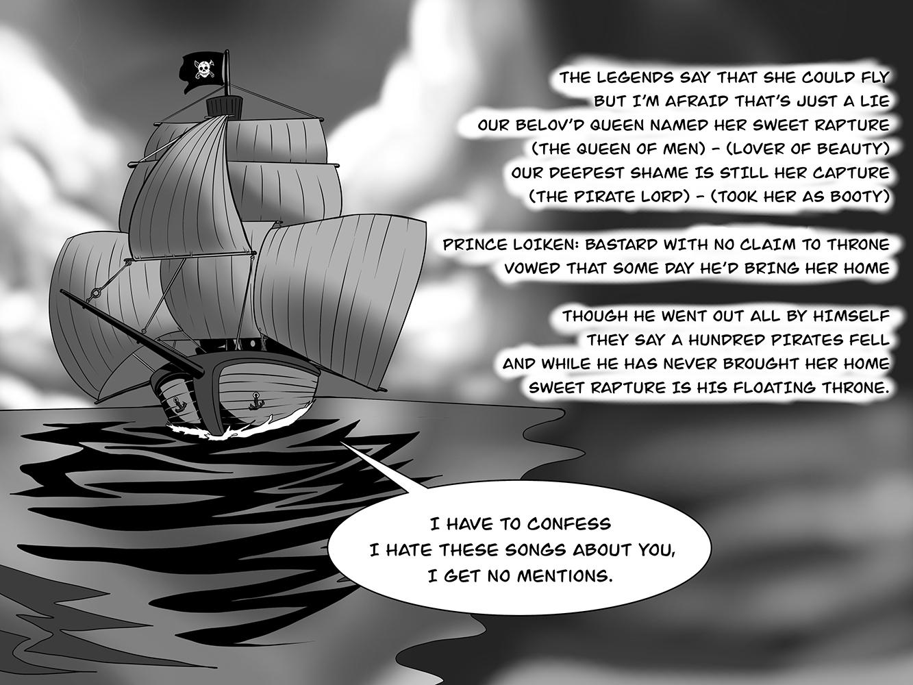 The Flying Pirateship