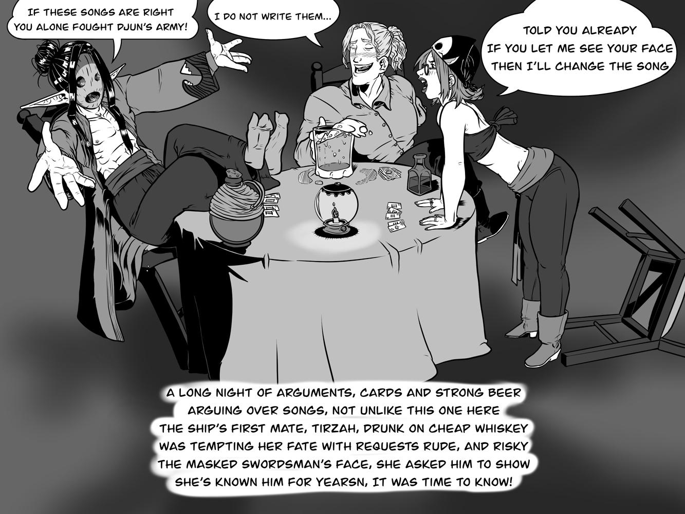 Drunken arguments