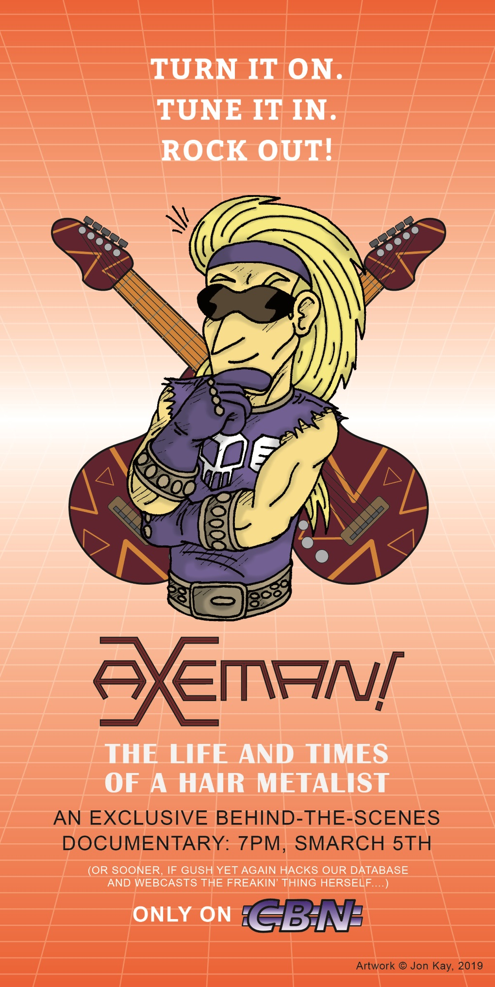 All hail to the AxeMan!
