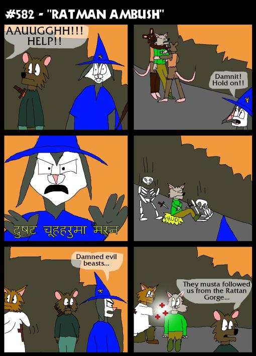 """#582 - """"Ratman Ambush"""""""