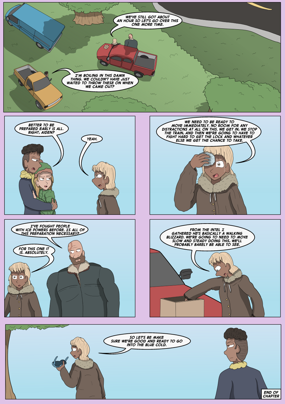 Into The Blue- Page 30