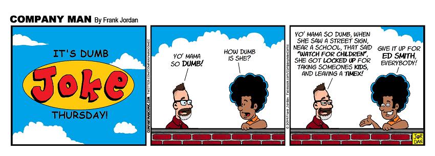 It's #DumbJokeThursday! 8/8/19
