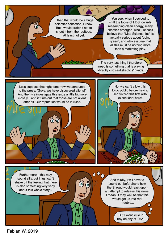 Madeleine's Reasoning