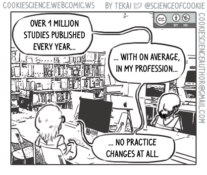 1198 - A million studies for what?