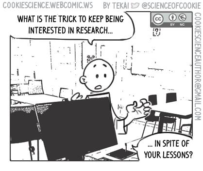 1191 - University kills my interest in research