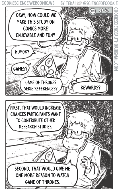 1177 - Participating in research could/should be made fun