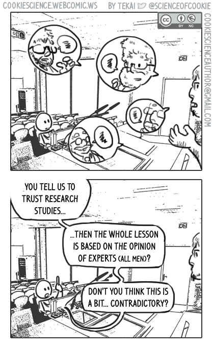 1172 - Trust the evidence (but only believe the experts I show you!)