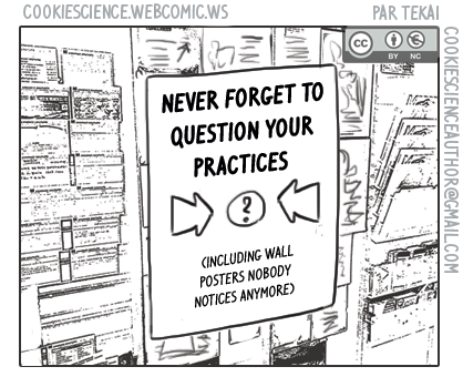 1134 - Reminder: Question your practices