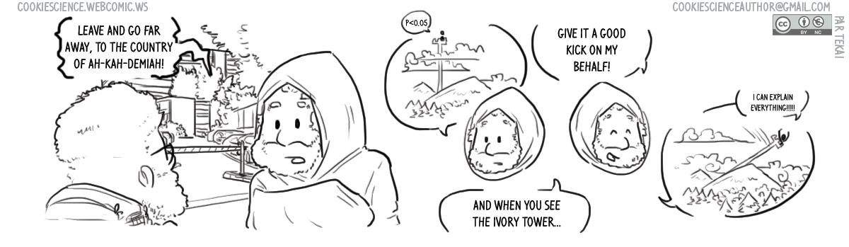 1077 - An ivory tower far away