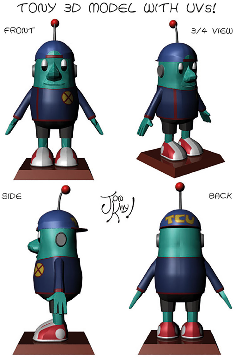 Tony in 3D! (part 10)