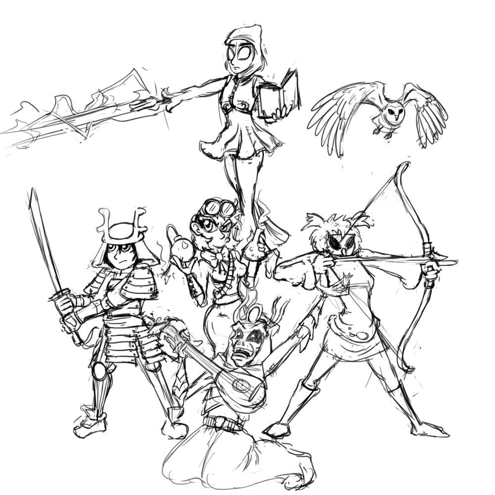 RPG Party (by argylefox)