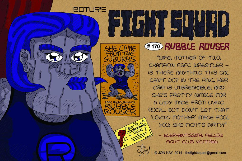 Character profile: Rubble Rouser