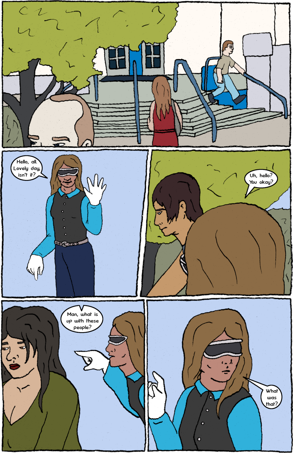 Issue 7: Malignant Malaise - Page 1