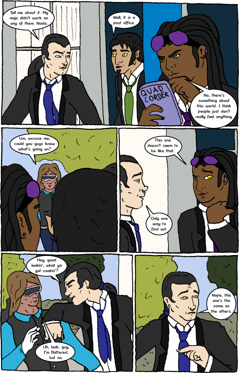 Issue 7: Malignant Malaise - Page 2