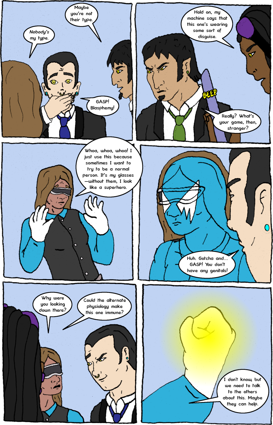 Issue 7: Malignant Malaise - Page 3