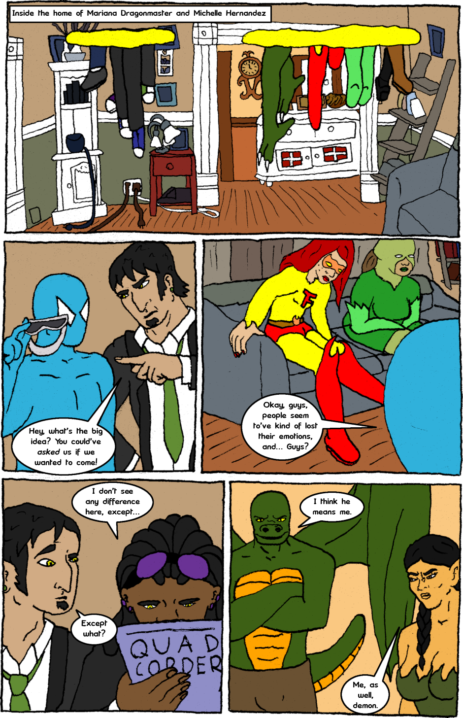 Issue 7: Malignant Malaise - Page 4