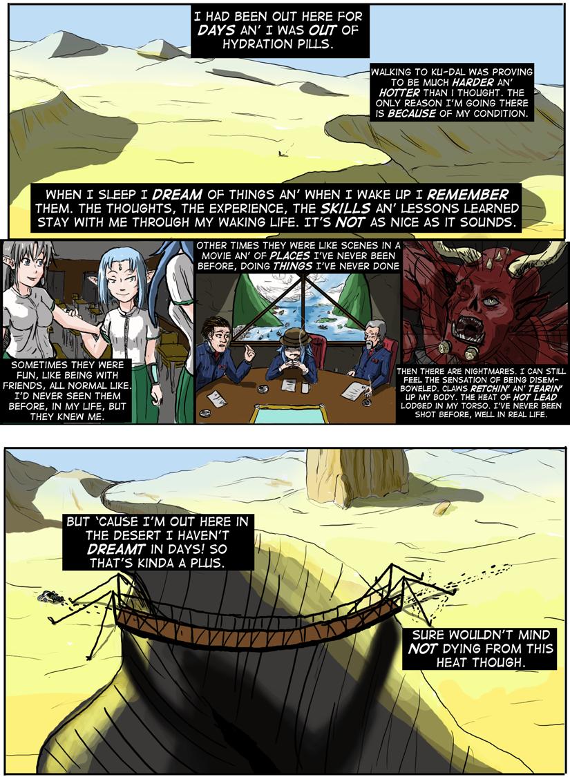 Kyoni:Wanderer Page 3