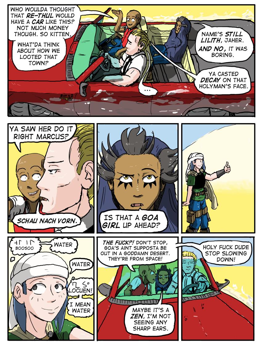 Kyoni:Wanderer Page 5