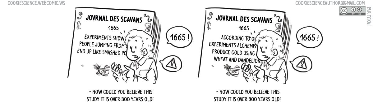 1016 - Old studies or old studies?