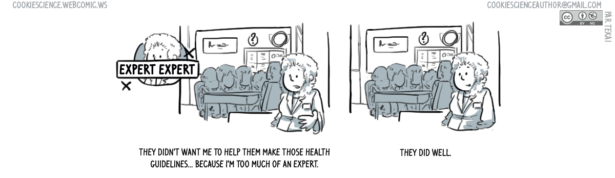 1006 - Too much of an expert to have a say