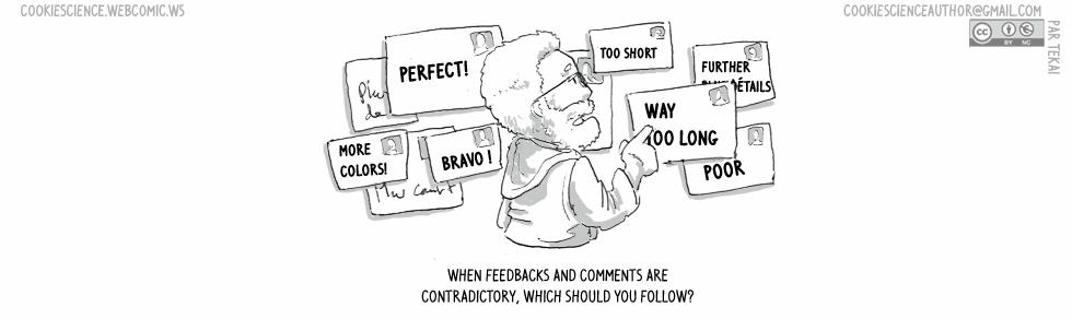 990 - Contradictory feedback