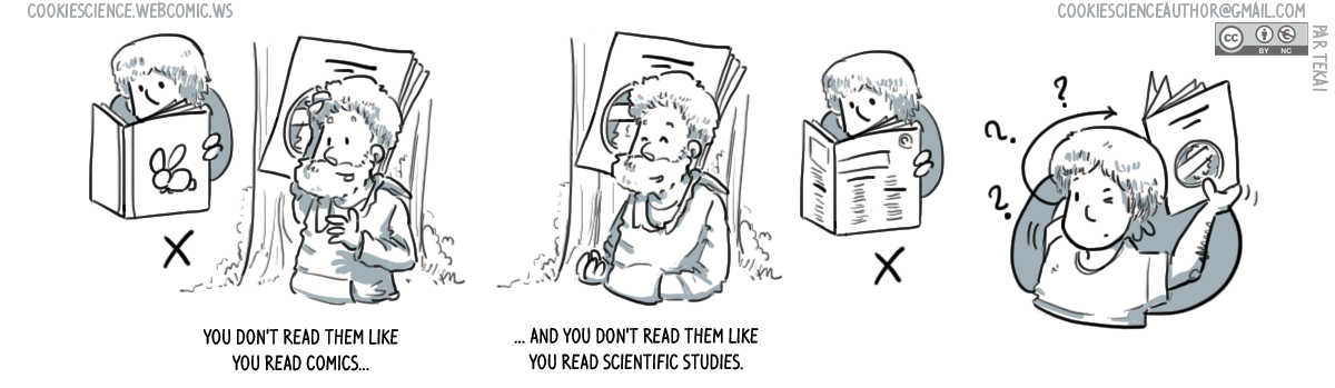 952 - Learning to read research comics