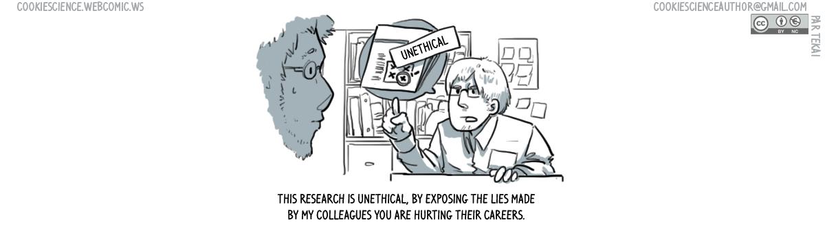 942 - Exposing lies exposes people