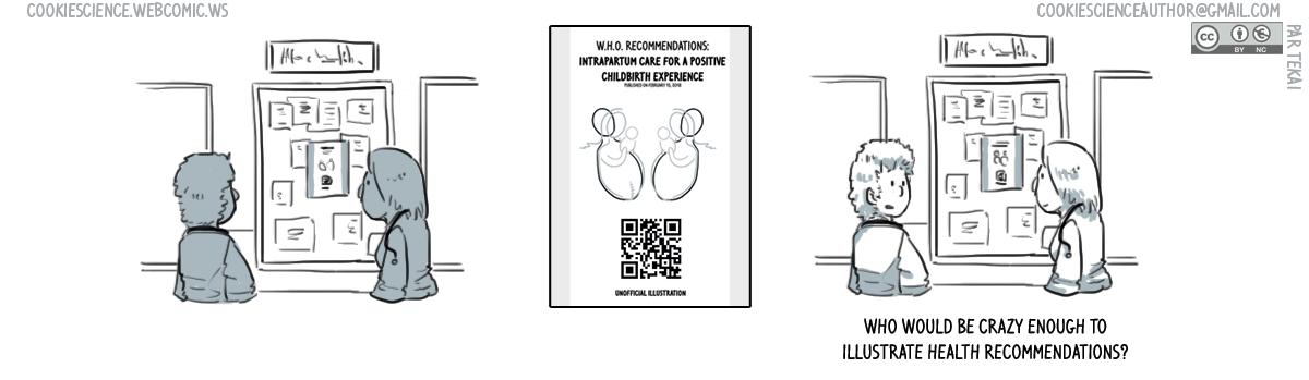 938 - Nobody draws health recommendations, dissemination idea