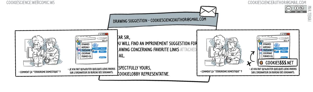 870 - Corrupt the comics through feedbacks