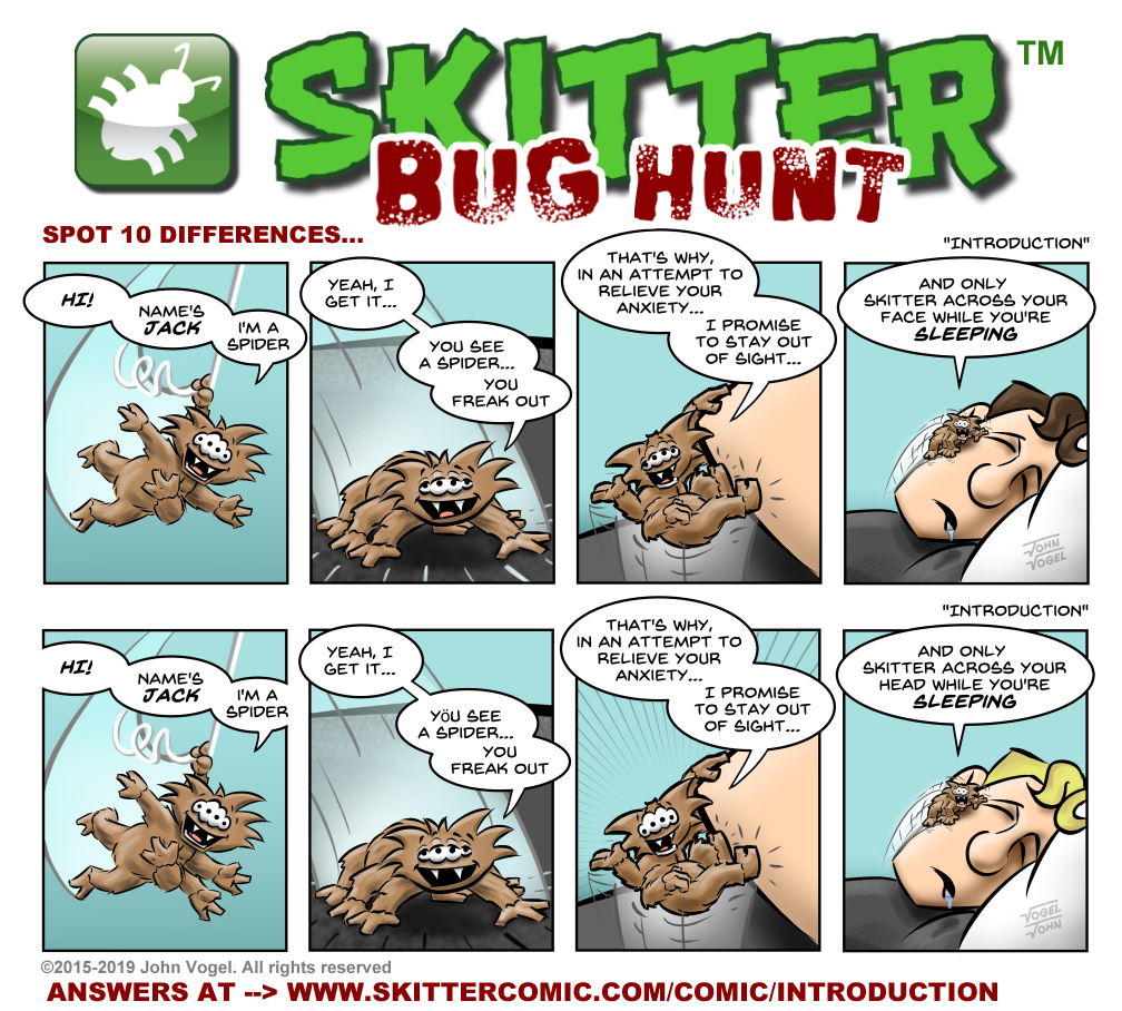 "Skitter BUG HUNT - ""Introduction"""