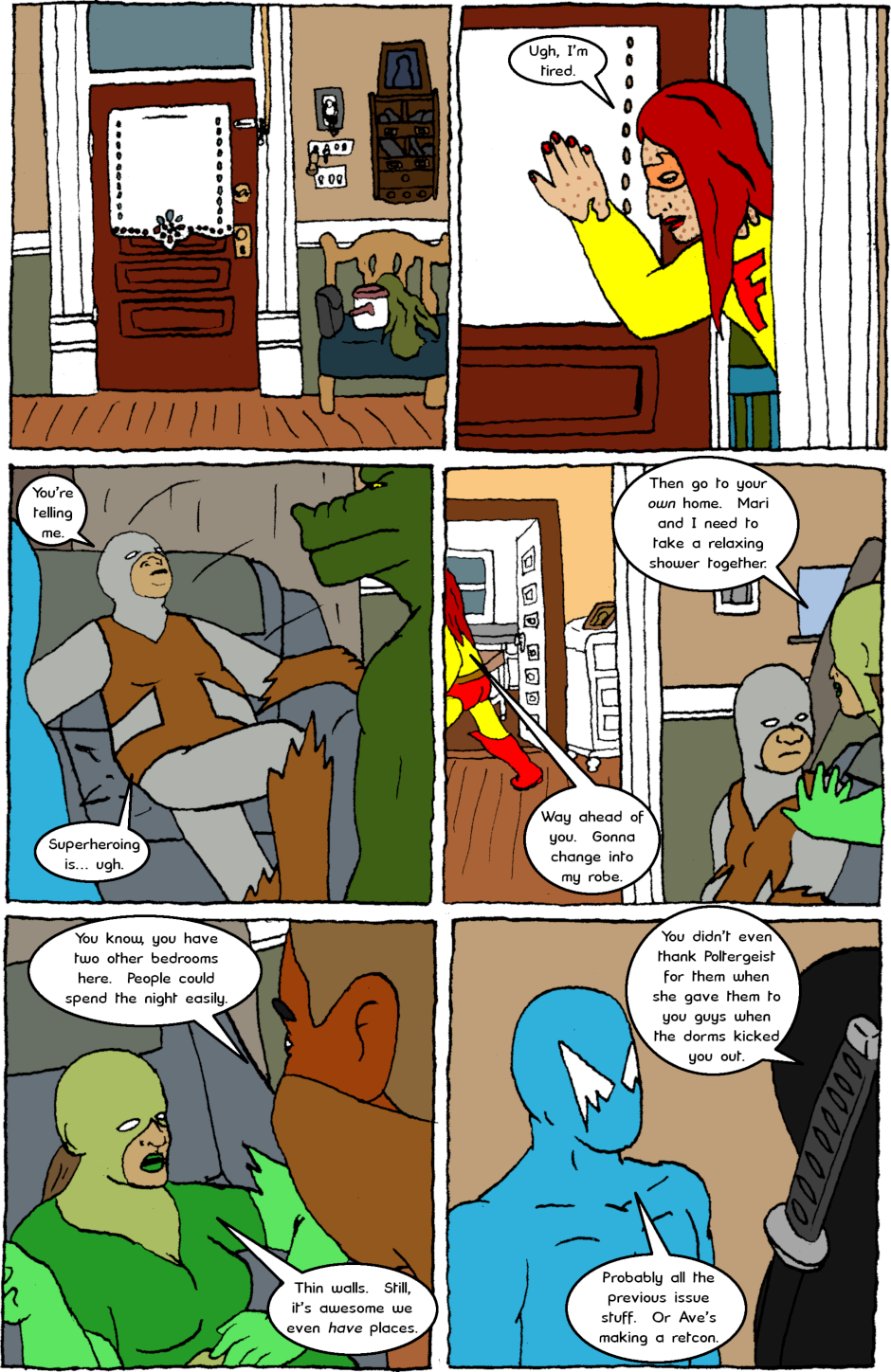 Issue 8: Young Adult Anthropomorphic Warrior Chuckwallas - Page 1