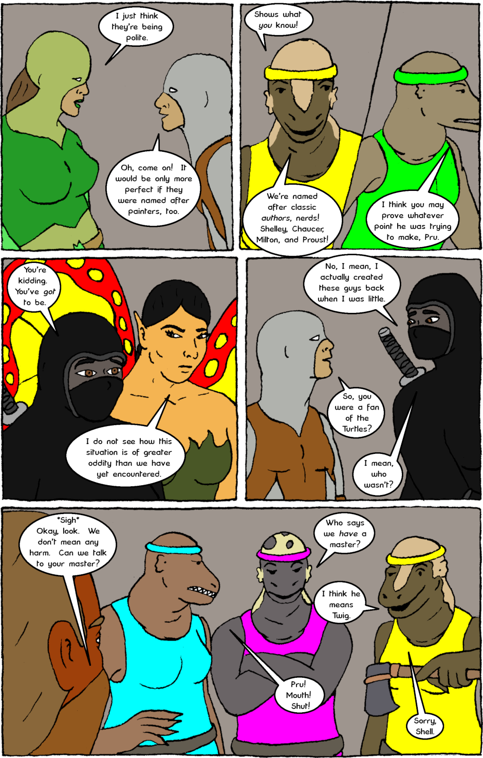 Issue 8: Young Adult Anthropomorphic Warrior Chuckwallas - Page 7