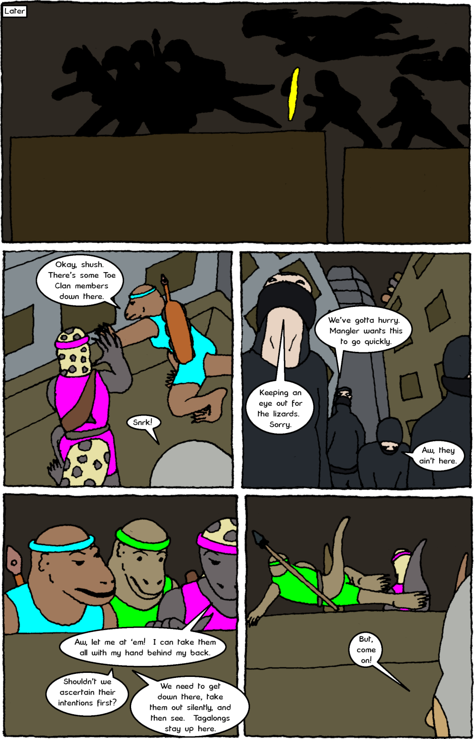 Issue 8: Young Adult Anthropomorphic Warrior Chuckwallas - Page 9