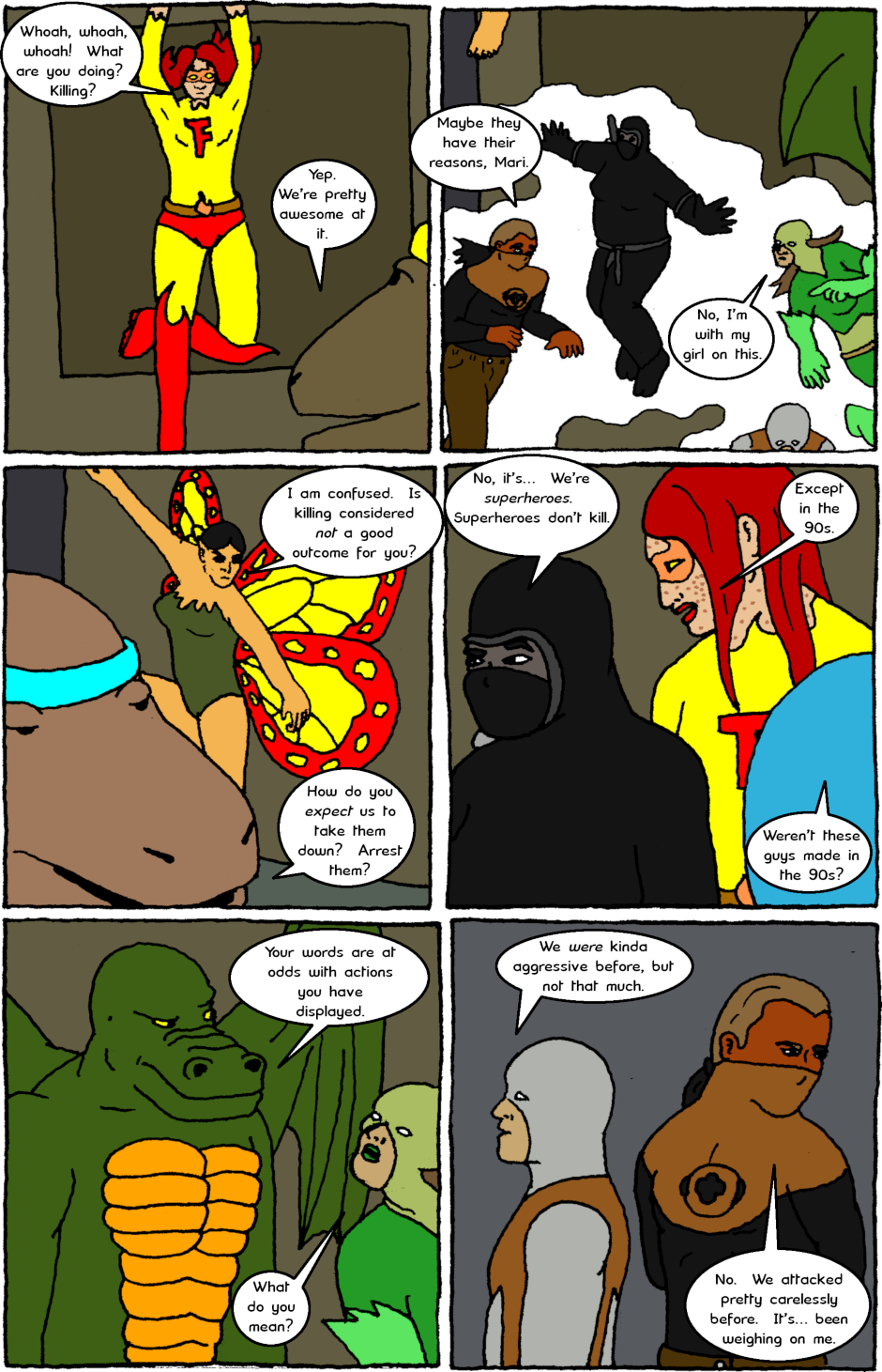 Issue 8: Young Adult Anthropomorphic Warrior Chuckwallas - Page 12