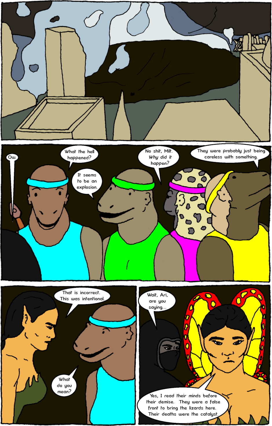 Issue 8: Young Adult Anthropomorphic Warrior Chuckwallas - Page 14