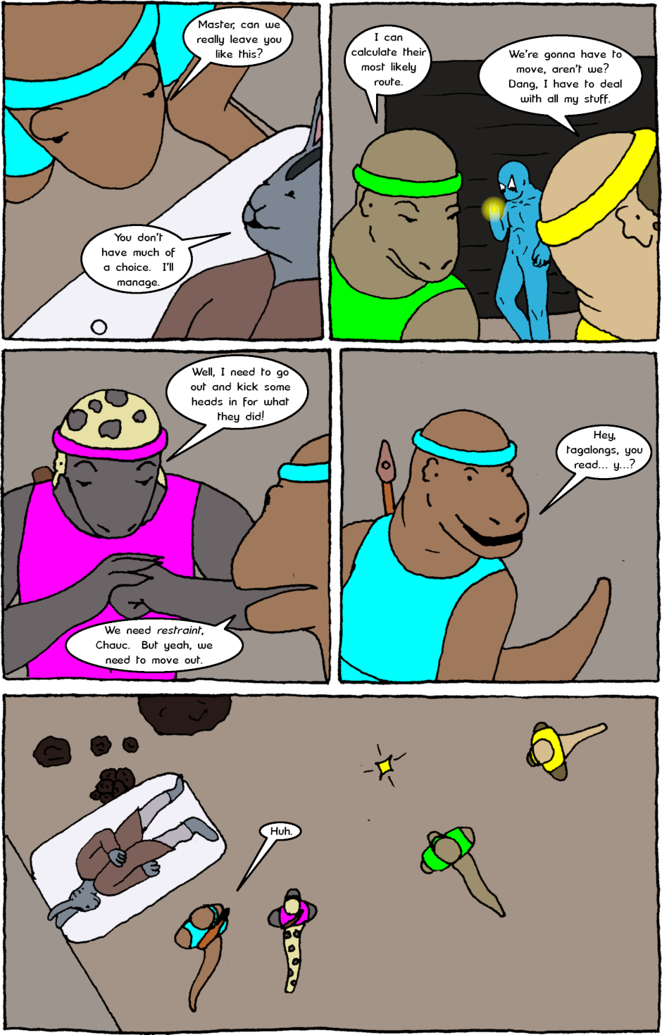 Issue 8: Young Adult Anthropomorphic Warrior Chuckwallas - Page 18