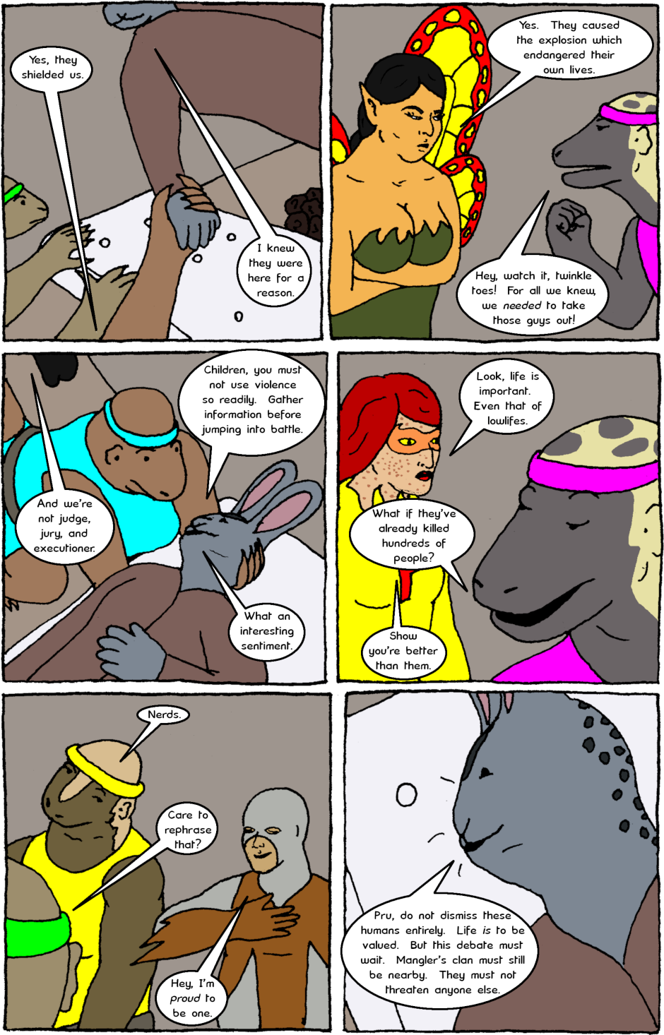 Issue 8: Young Adult Anthropomorphic Warrior Chuckwallas - Page 17