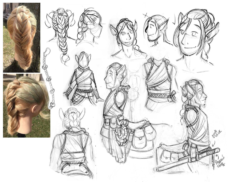 Hiatus - Character Concept #2 - Rowan