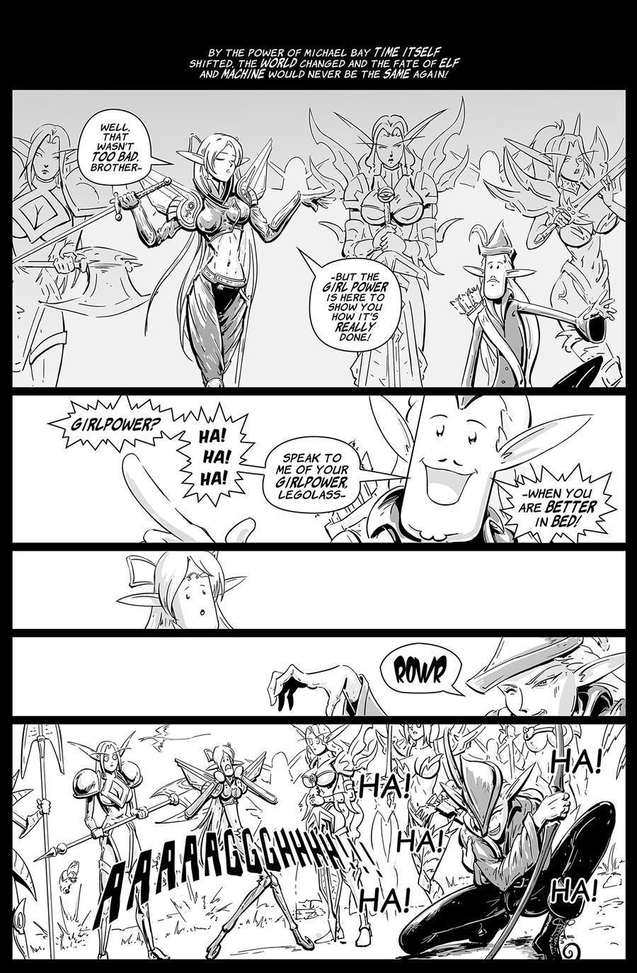 Character Development Anthology Battlescarred Dragattica pg 09