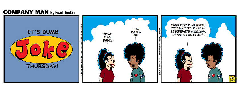 It's #DumbJokeThursday! 9/26/19