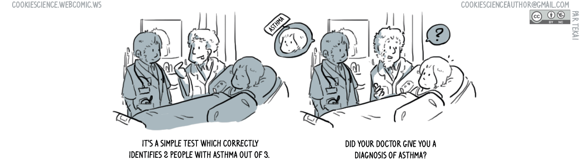 846 - How reliable were their diagnostic assessments?