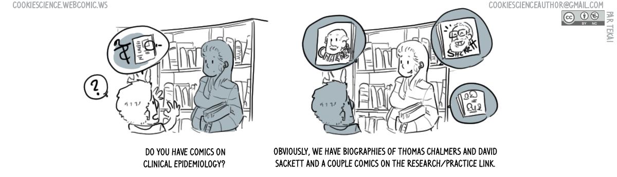 807 - Clinical epidemiology comics, sure!