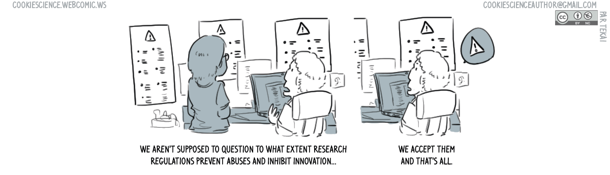 804 - Research regulations are supposed to work