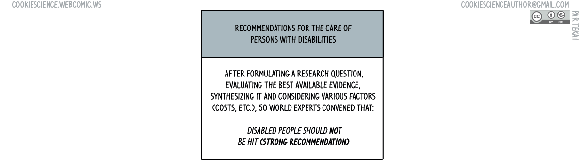 779 - Guidelines should tell you useful things