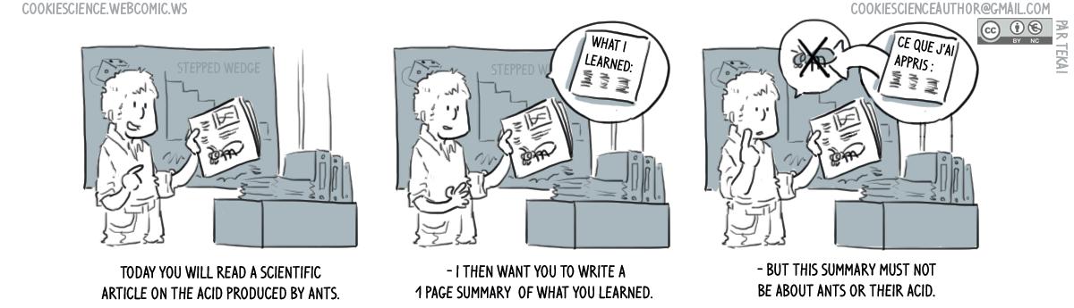 760 - Indirect learning