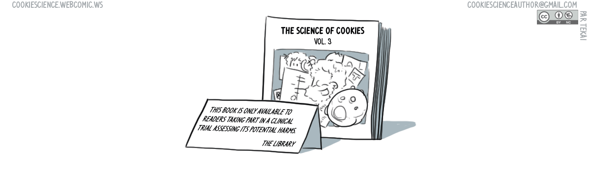 752 - The Science of Cookies is not available unless...