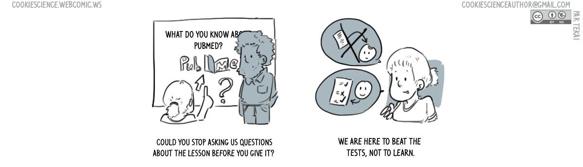 734 - Pretest questions